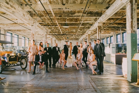 Ford Piquette Plant Wedding 0070