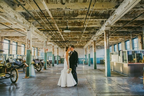 Ford Piquette Plant Wedding 0072