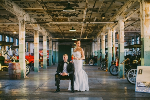 Ford Piquette Plant Wedding 0083